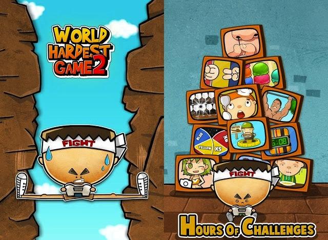 World's Hardest Game 2: безумная сложность