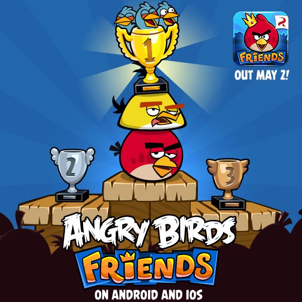 Новая игра из серии Angry Birds выйдет 2 мая (+видео)