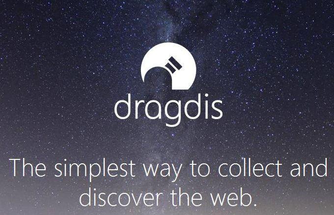 Dragdis — простой и эффективный способ собрать коллекцию ссылок, цитат, изображений и видео