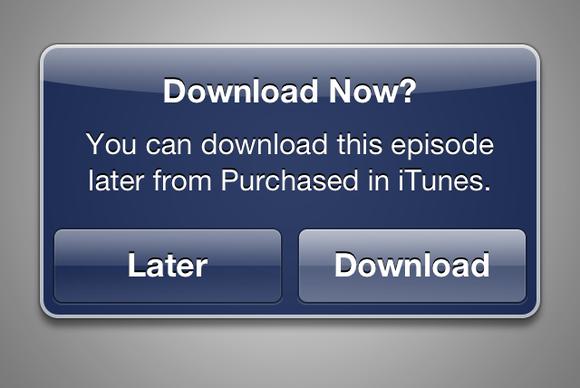 В iTunes появилась функция отложенной загрузки