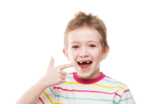 Молочные зубы с неправильным прикусом