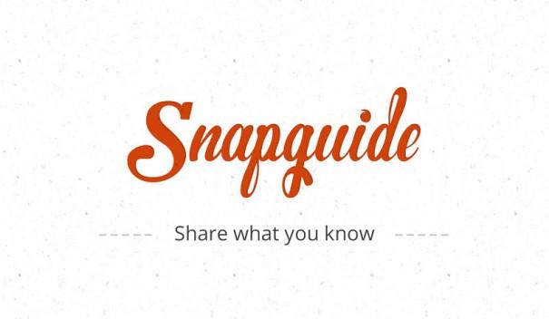 Snapguide. Инструкции на все случаи жизни