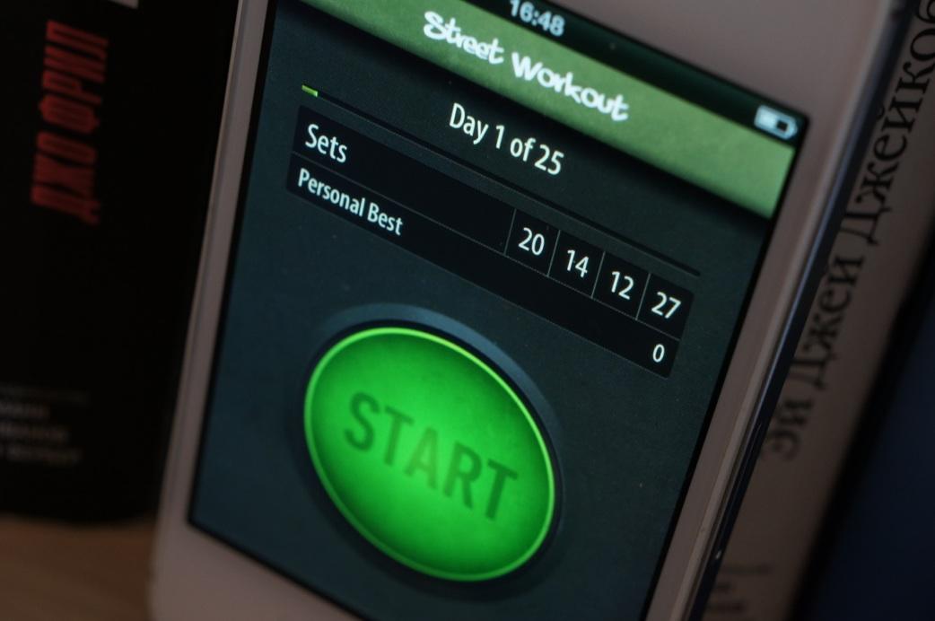 Street Workout Squats для iPhone — отличное бесплатное приложение для приседаний
