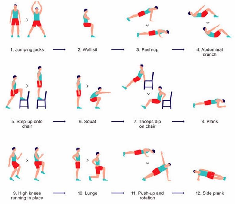 20 минут упражнения скачать: