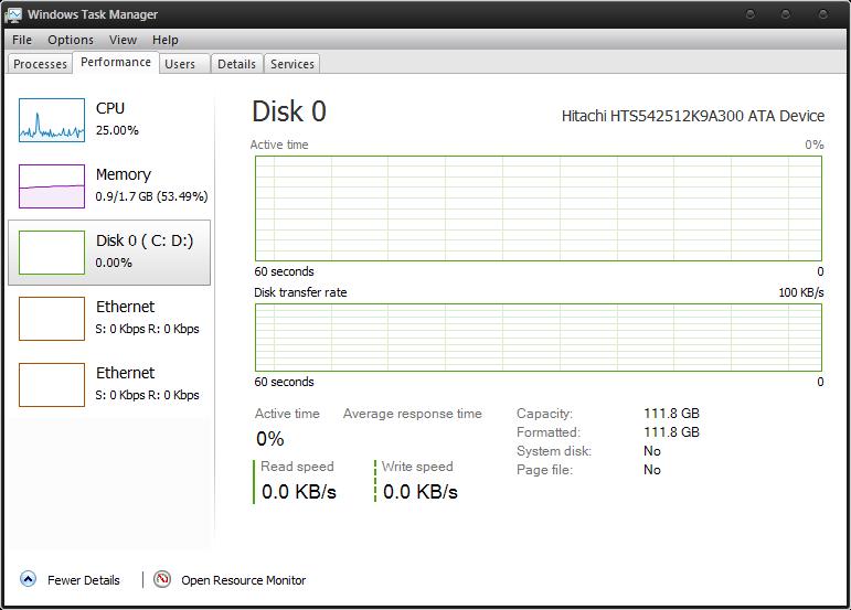 DBCTaskman — аналог нового менеджера задач из Windows 8
