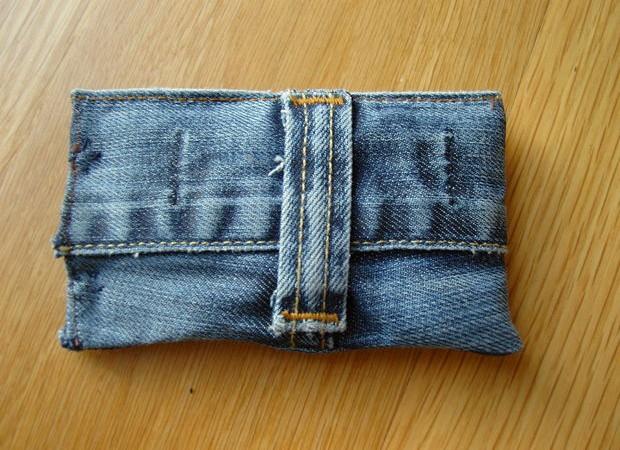 Чехол для телефона из джинс своими руками