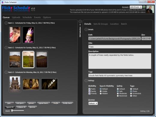Flickr Schedulr