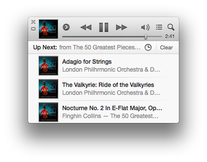 itunes 11.0.3 miniplayer