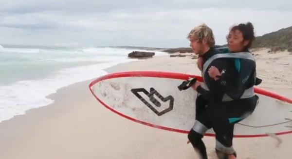 ВИДЕО: Серфинг «на скотче»