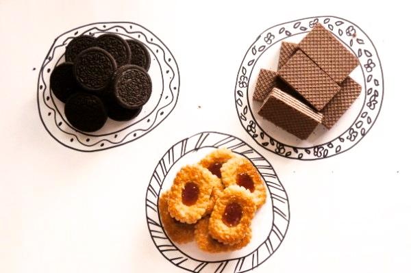 Привычная еда: Офисные печеньки ♥_♥