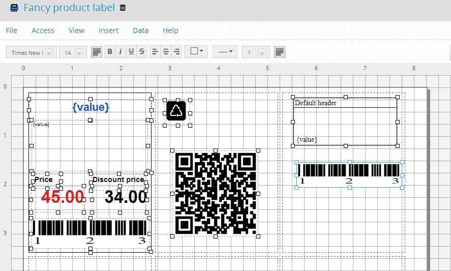 QR Code and Barcode Label Generator — разработка служебной документации для малого бизнеса в Google Chrome