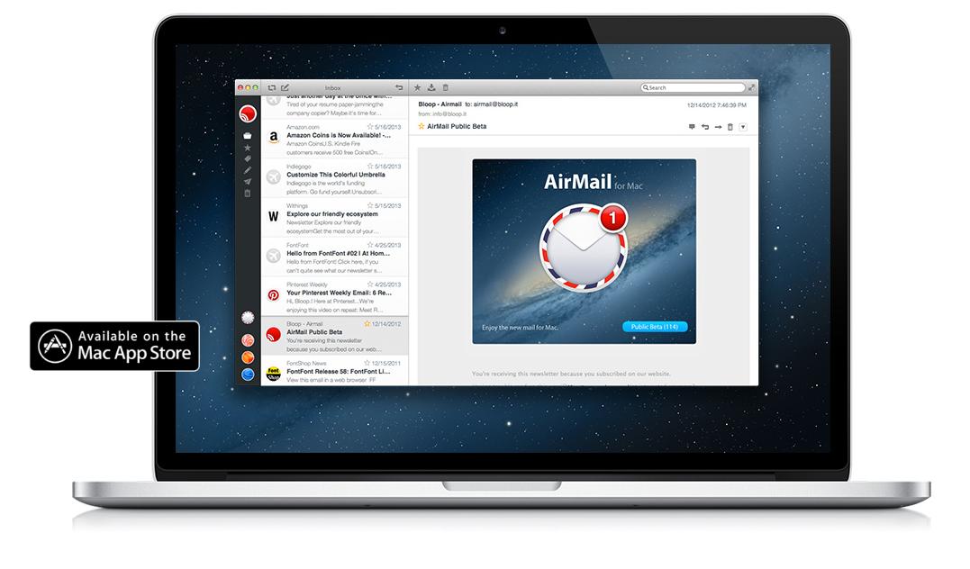 Airmail — новый почтовый клиент для OS X