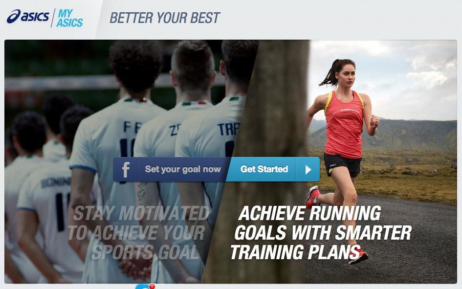 My.asics.co.uk — простой сервис для составления плана беговых тренировок