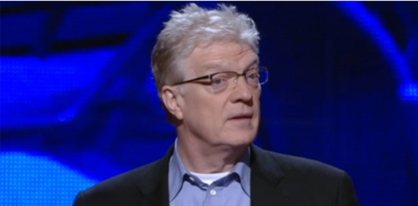 ВИДЕО: Сэр Кен Робинсон о трех важных принципах, необходимых для процветания человеческого разума
