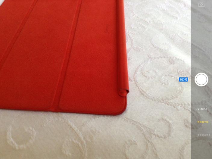 В iPad появится режим съемки в HDR