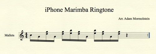 marimba iPhone
