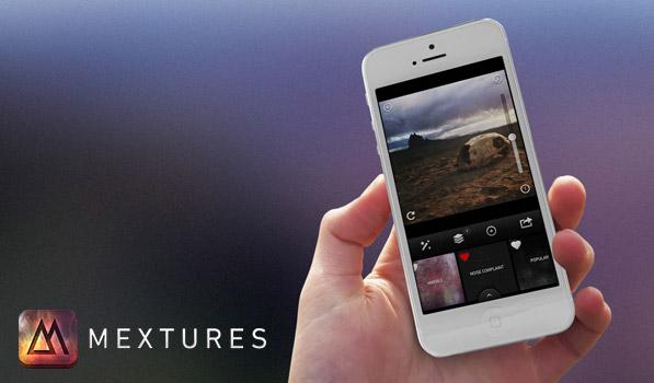 Mextures для iPhone дает вам огромный простор для фототворчества