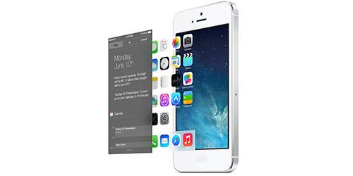 Интересное сравнение: Многоплановая iOS 7