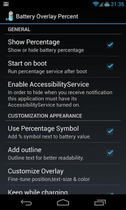 Как сделать индикатор заряда батареи Android более информативным - БЛОКАДА