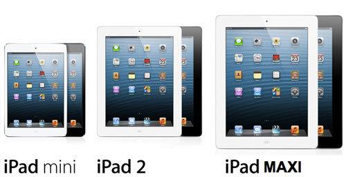 13-дюймовый iPad может выйти в 2014 году