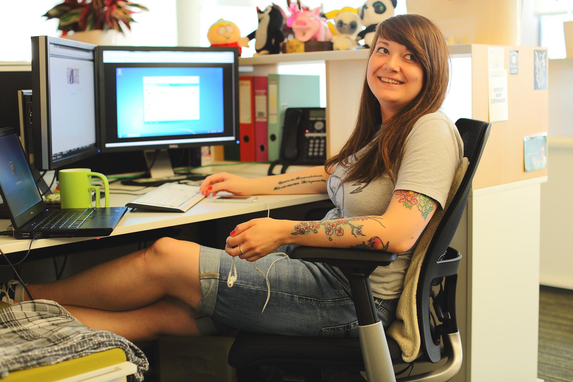 Рабочие места: Анна Ларкина, старший контент-аналитик в «Лаборатории Касперского»