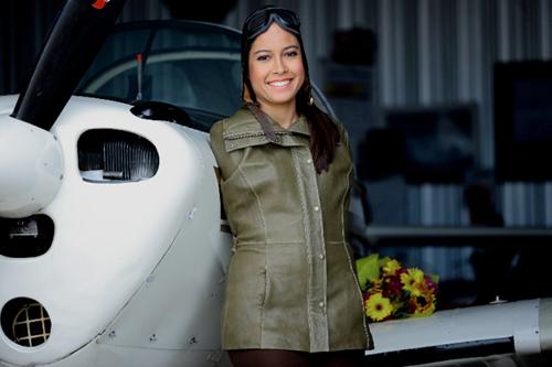 Джессика Кокс — первый в мире пилот без обеих рук