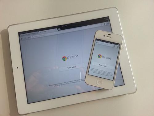 В Chrome появилась поддержка полноэкранного режима на iPad