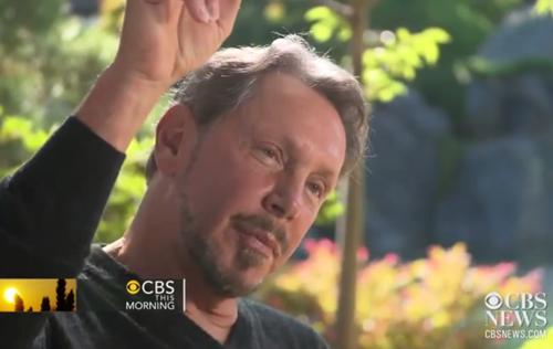 Ларри Эллисон из Oracle предвещает Apple мрачное будущее без Стива Джобса