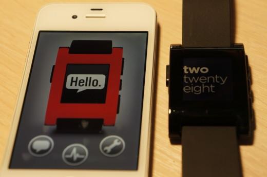 Pebble и приложение для iPhone