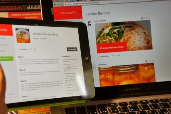 Новый кулинарный веб-сервис Recipeasly.com