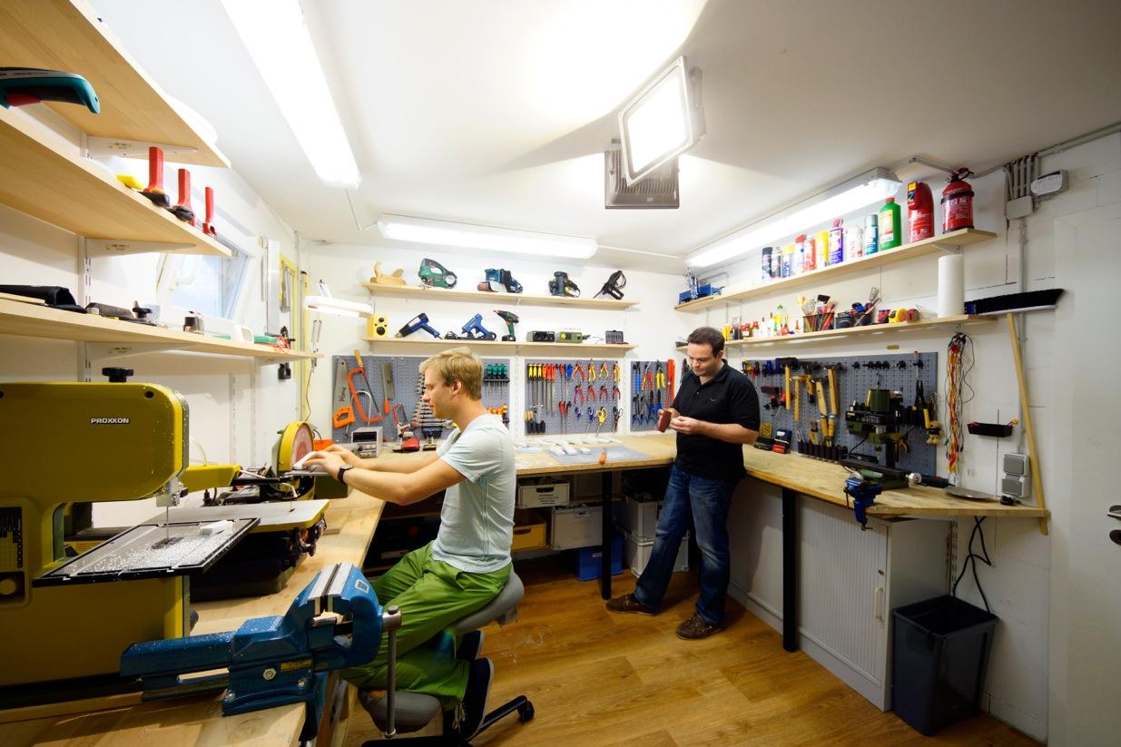 Работа в дизайн мастерской