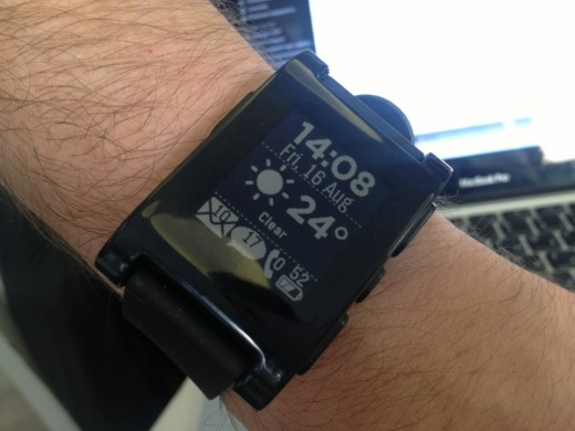 Pebble Android-style :)