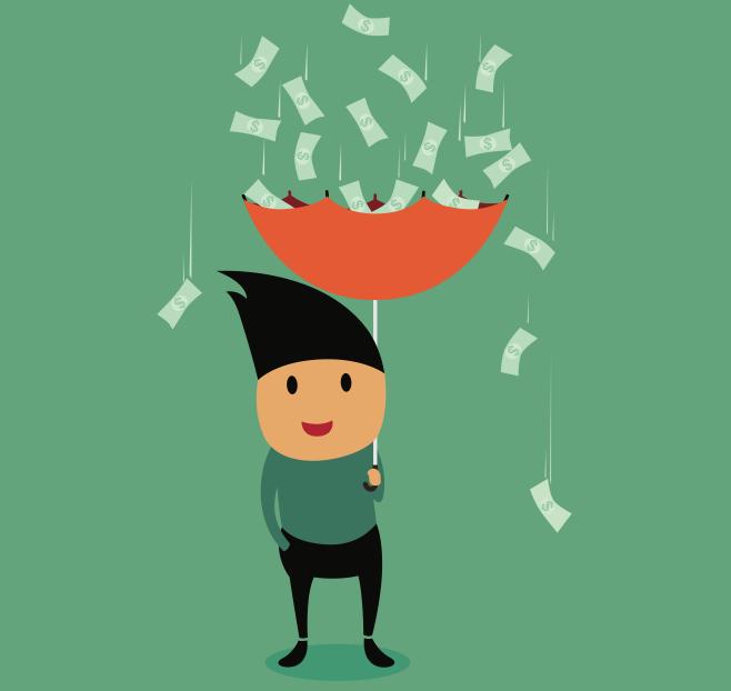 ИНФОГРАФИКА: Счастье не в деньгах?