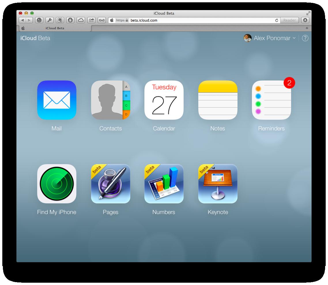 Доступ к iWork for iCloud ограничен
