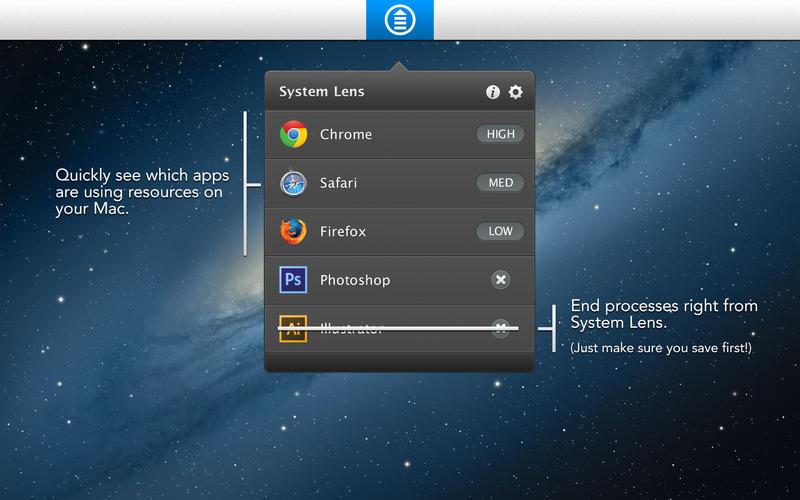 System Lens помогает контролировать расход батареи Mac