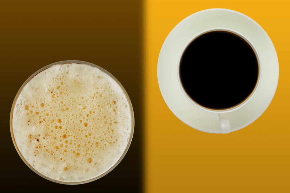 ИНФОГРАФИКА: Как пиво и кофе действуют на наш мозг