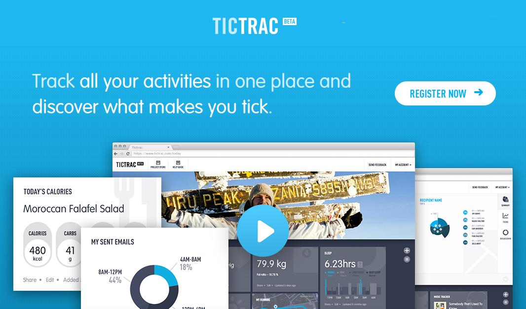 Tictrac — центр анализа всех ваших цифровых данных из различных сервисов