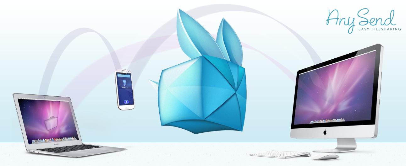 Any Send: быстрый способ пересылки файлов между компьютерами и мобильными устройствами