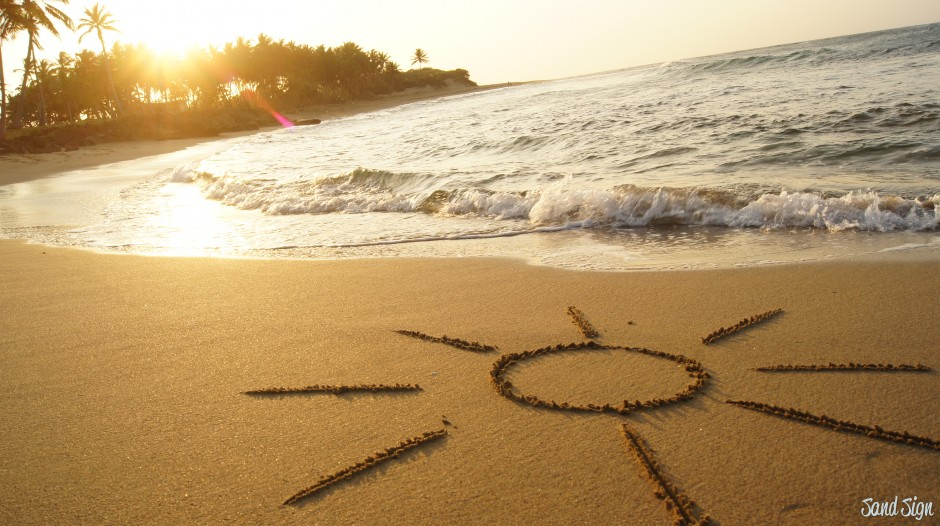 Sand Sign: слова, пропитанные солнцем