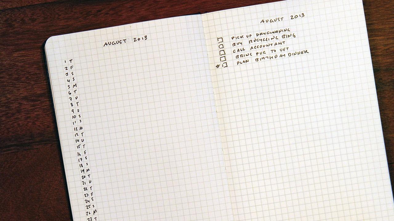 BULLET JOURNAL или как упорядочить записи в ежедневнике