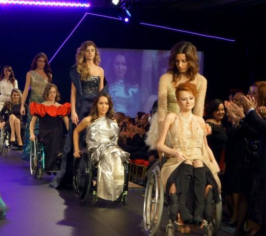 Анастасия Виноградова на международном конкурсе Modelle&Rotelle