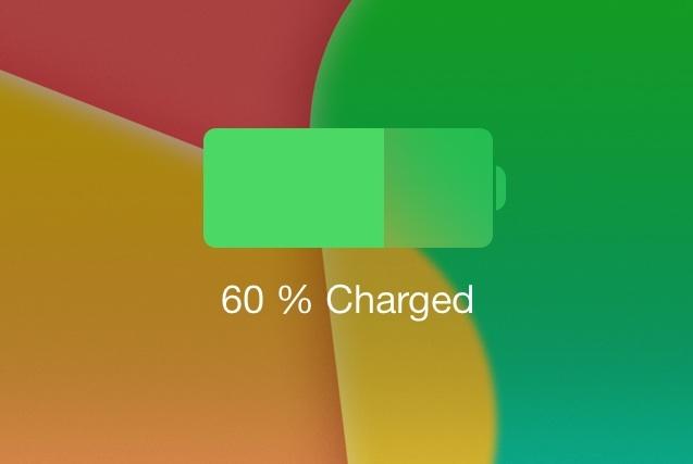 Слишком быстро разряжается батарея айфона на iOS 7? Это поправимо :)