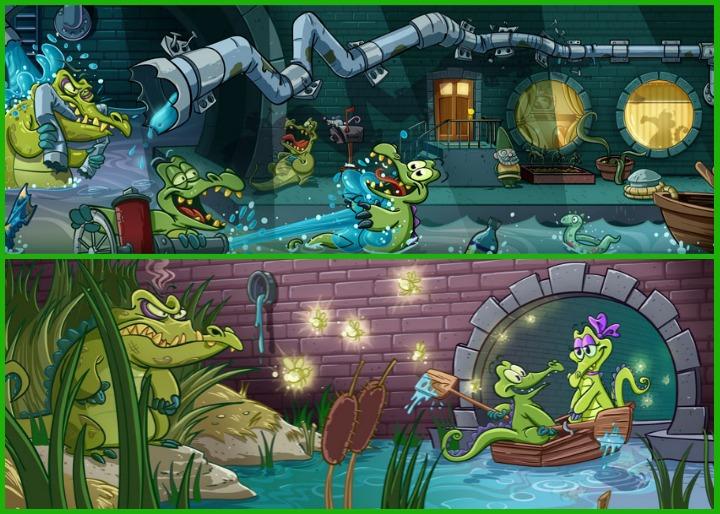 Крокодильчик Свомпи 2: вновь гоняем воду по трубам