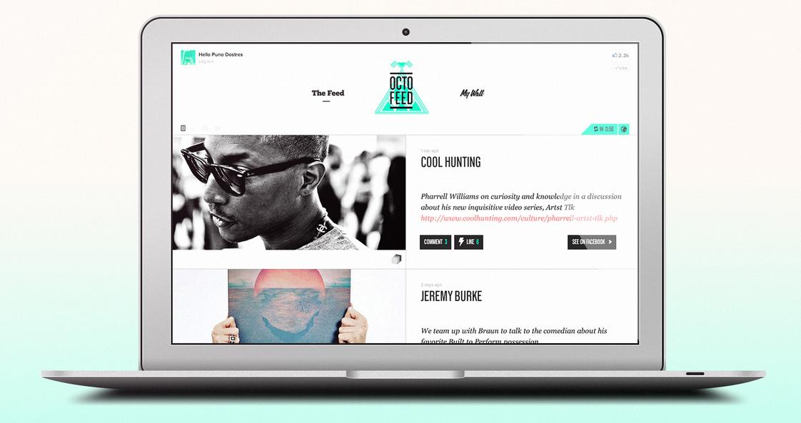 Octofeed — новый удобный интерфейс для Facebook