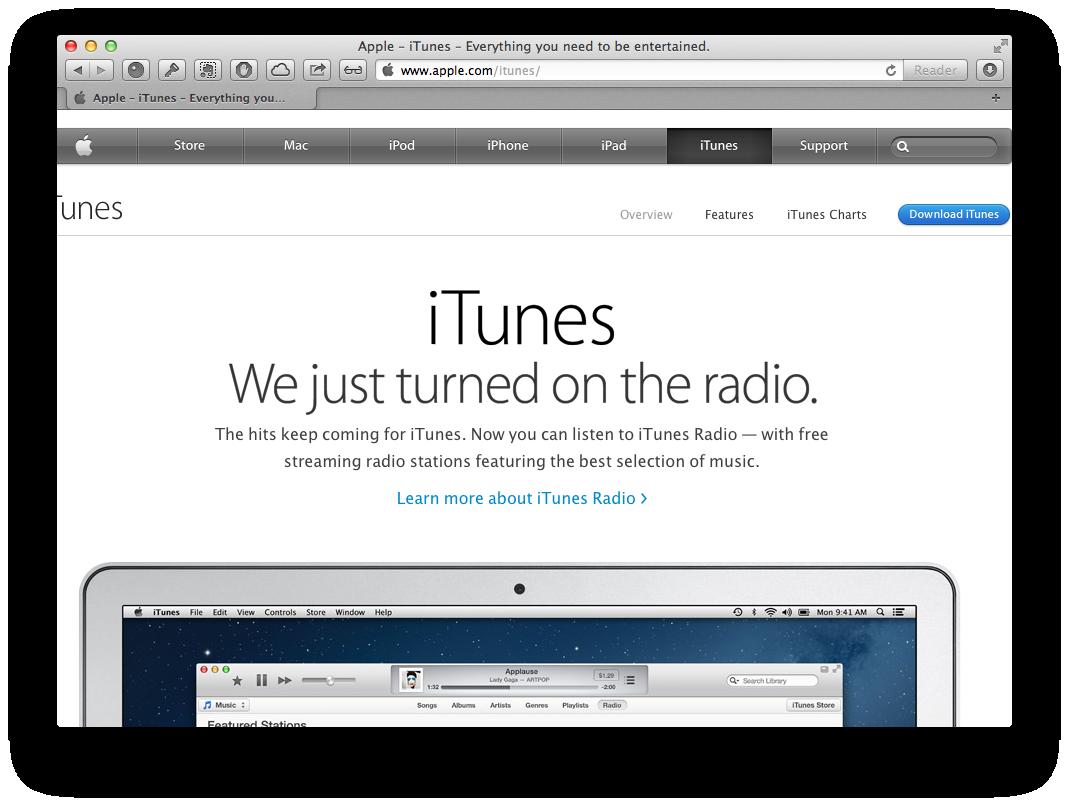 Вышла iTunes 11.1 с поддержкой iTunes Radio и iOS 7 (+ссылки на скачивание)