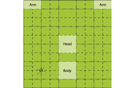 фигурку Android (оригами)