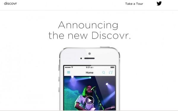 Обновленный Discovr — теперь это музыкальная социальная сеть