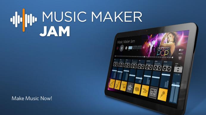 Music Maker Jam — простой музыкальный конструктор для Android