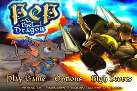 Pep the Dragon: аркада в лучших традициях Марио