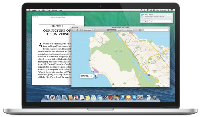 Финальная версия OS X Mavericks выйдет в октябре